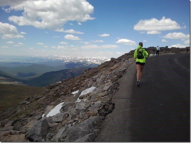Mt. Evans Ascent