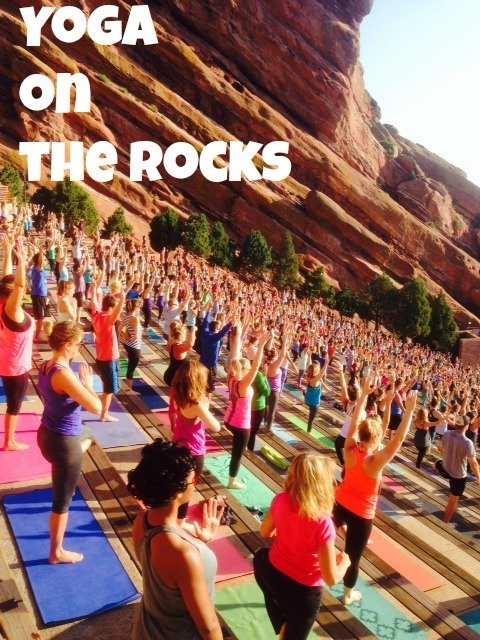 Yoga On The Rocks At Red Rocksjust A Colorado Gal