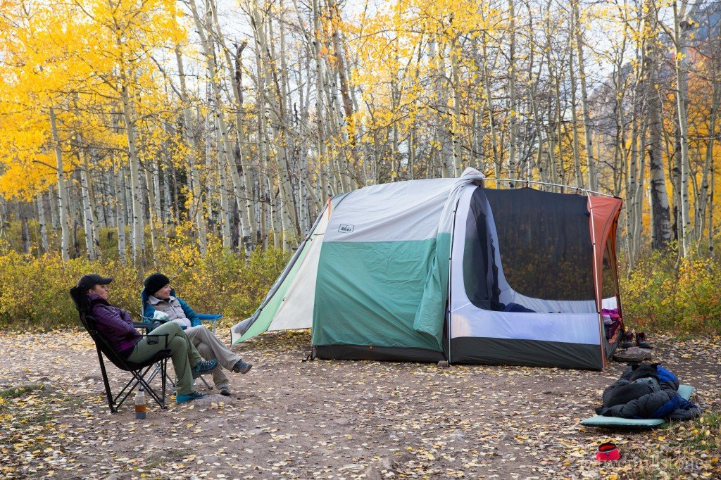 Dispersed camping in Colorado