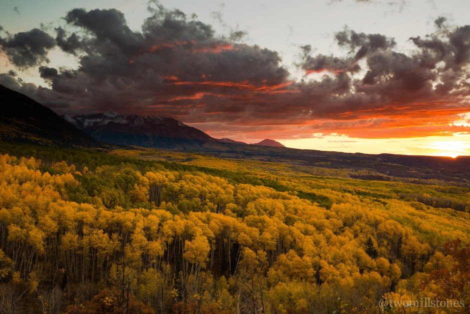 the seven best drives for colorado fall colors just a colorado gal