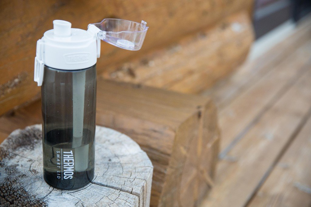Thermos Connected Hydration Bottle with Smart Lid