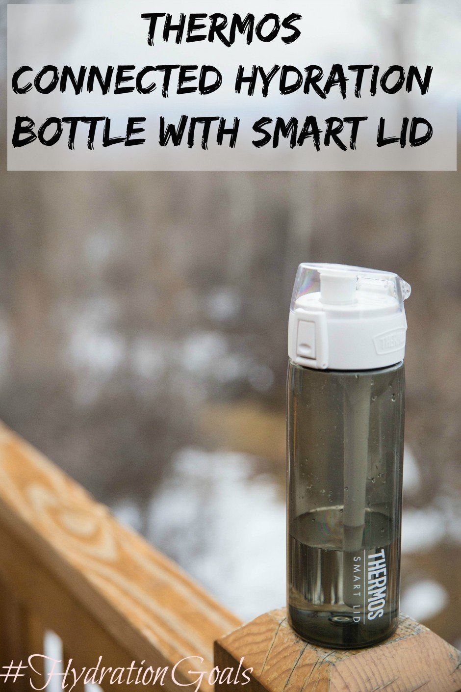 Thermos Connected Hydration Bottle