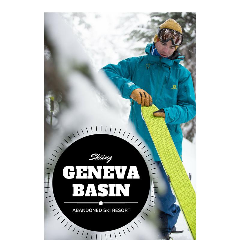 Skiing Geneva Basin