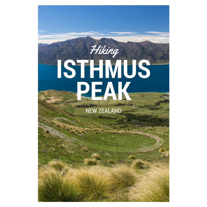Hiking Isthmus Peak