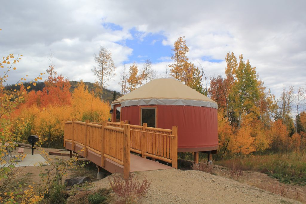 Yurts at Snow Mountain Ranch