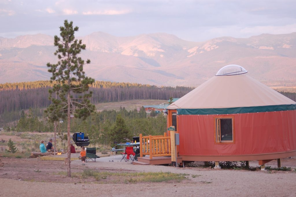 Yurt life at Snow Mountain Ranch